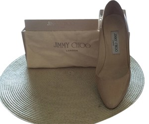 Jimmy Choo In Box nude Pumps