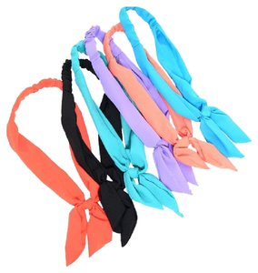 Other 4 PCS Wire Bow tie Bunny Ears Ribbon Bendy Elastic Headband