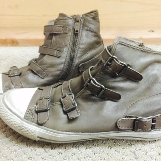 Ash Sneaker Leather Sporty Sepia Athletic