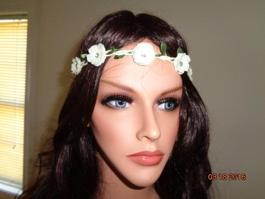 Other 1 PC Rhinestone Floral Flower Headband Summer Beach Bridal Wedding Accessories