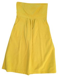 J.Crew short dress Yellow on Tradesy