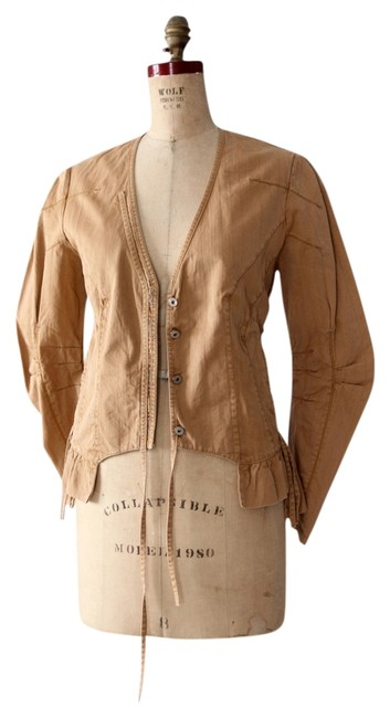 Item - Brown Ico oclast Casual Jacket Size 6 (S)