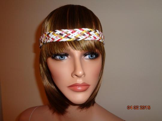 Other 1 PC Women Fashion Multi Color Braided Elastic Headband