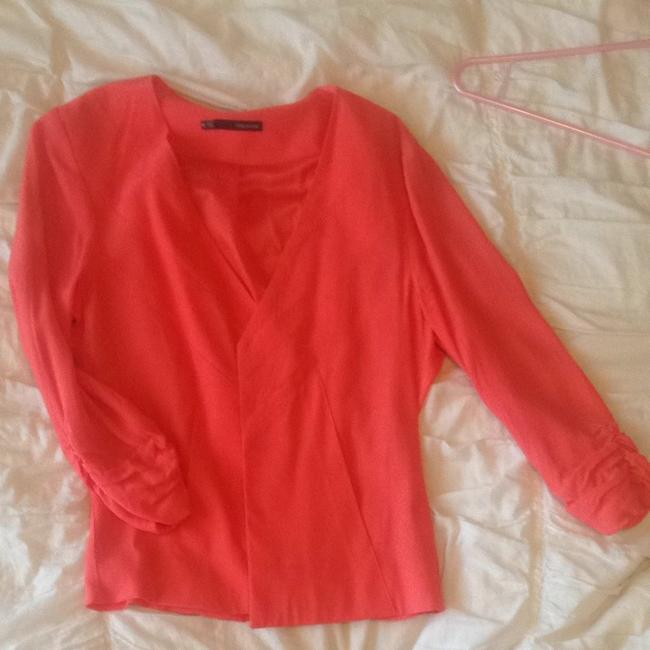 Preload https://item5.tradesy.com/images/maurices-coral-blazer-3117964-0-0.jpg?width=400&height=650