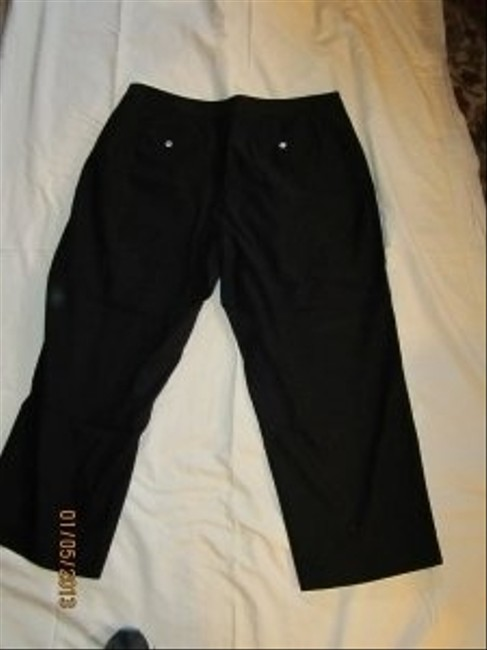 Charter Club Capri/Cropped Pants Black
