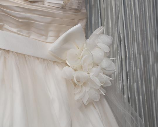 Ansonia Bridal Sash With Two Flower Selections
