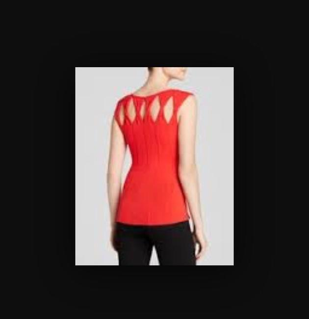 Bailey 44 Mambo Tee Usa Madeinusa Medium Style Fashion Designer Clothes Clothing Cutout Cut Sleevless New Top Red