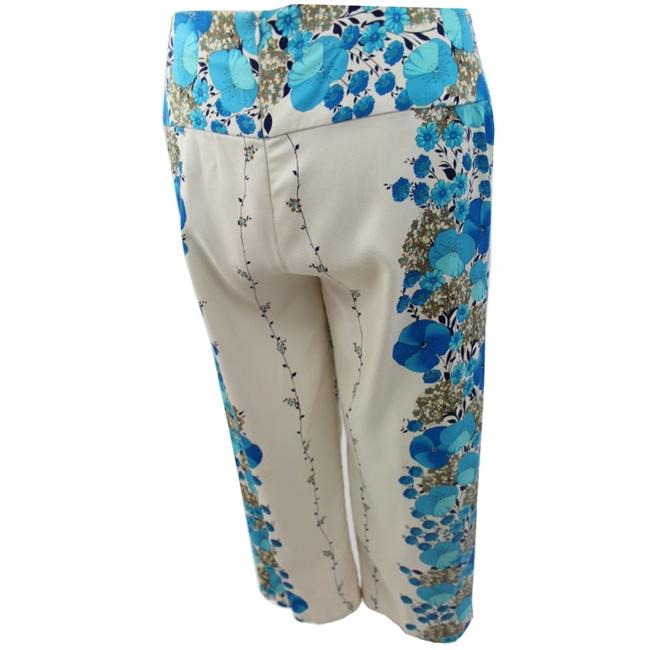 Jungal Woman Designer Relaxed Pants Off White Blue