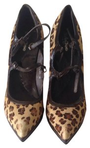 Jubilee Pony Hair Leopard Print Pumps