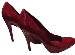ALDO Dark Red Pumps