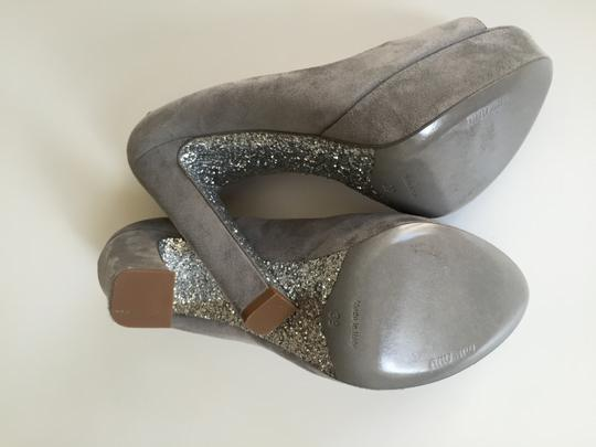 Miu Miu Grey Pumps