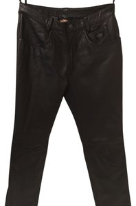 Harley Davidson Boot Cut Pants Black