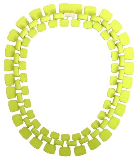 Topshop Topshop Lime collar necklace