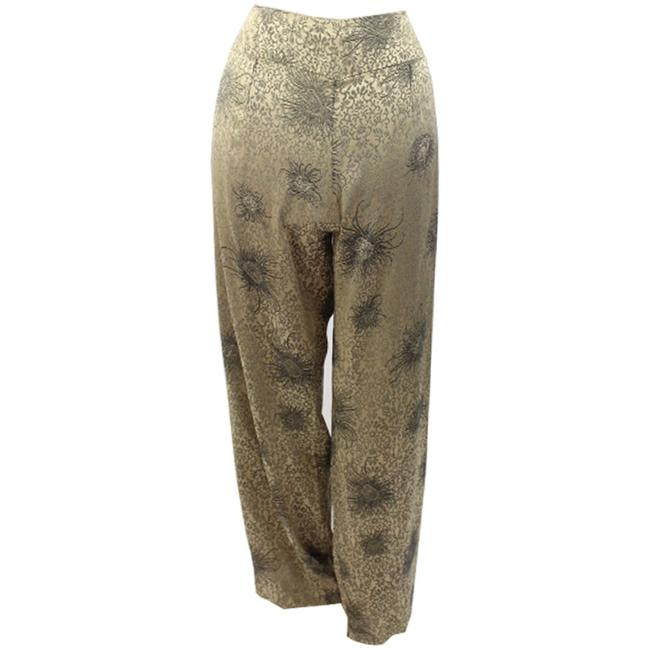 Willi Smith Woman Designer Relaxed Pants Metallic Printed