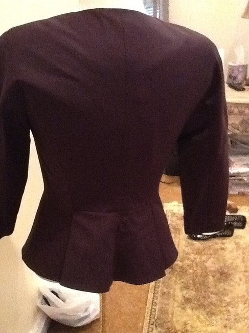 Ted Baker Ted Baker Lavanta shiny grape jacket - outfit worn on good wife series