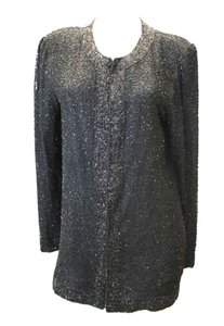 BLACK Brilliante Embellished Jacket Dress