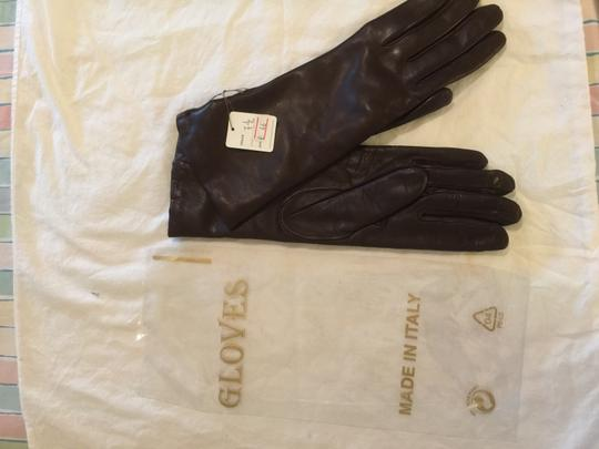 Other NEW W/ TAGS-BUTTER SOFT ITALIAN LEATHER FULLY LINED CASHMERE GLOVES