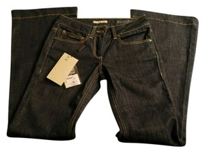 Burberry Brit London Chelsea Windsor Flare Leg Jeans-Dark Rinse