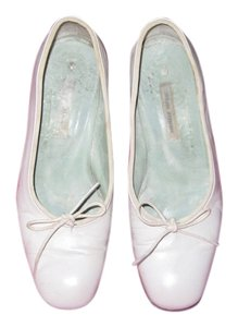 Sigeron Morrison Classic French Ballet White Flats