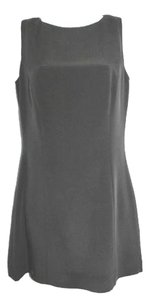Hugo Buscati Black Silk Dress