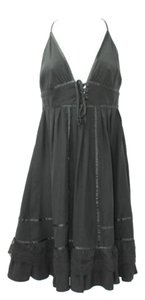 Other short dress Black Silk on Tradesy