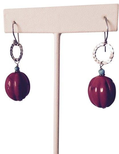 Preload https://item5.tradesy.com/images/redturquoisesilver-coral-sterling-earrings-3121849-0-0.jpg?width=440&height=440