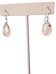 MOP TeardropIn Sterling Silver Earrings