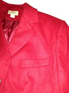 L.L.Bean Red Blazer