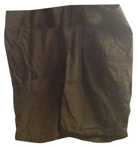 Sonoma Summer Pockets Comfortable Casual Cargo Shorts Dark Brown