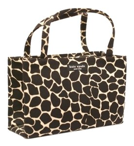 Kate Spade Tote in Chocolate & Ivory Animal Print