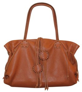 Carlos Falchi Tote in orange/rust