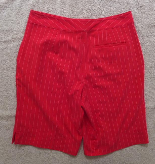 Izod Dress Shorts Red