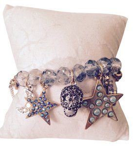 Betsey Johnson Betsey Johnson Stargazer Half-Stretch Bracelet Only! Matching Earrings Sold Seperately.