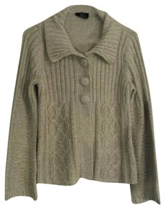 It's Our Time Beige Cozy With Buttons Sweater