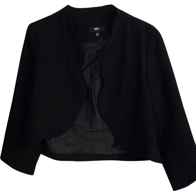 Mossimo Supply Co. Target With Scalloped Scalloped Black Blazer
