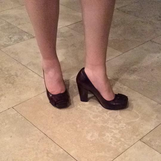 Vince Camuto Deep Red/ Burgandy Pumps