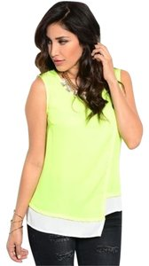 Other Top Neon Green