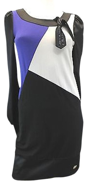 EGOIST Colorblock Silk Dress