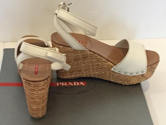 Prada Strappy Wedges