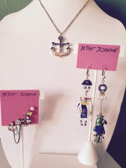 Betsey Johnson Betsey Johnson 5 Nautical Stud Earrings Only! Matching Pieces Sold Seperately.