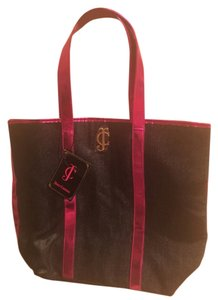 Juicy Couture Tote in Pink Metallic