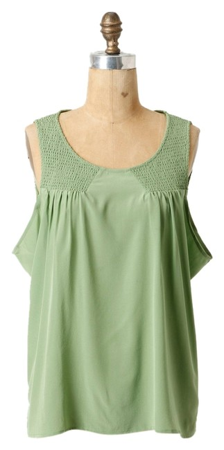 Preload https://item1.tradesy.com/images/anthropologie-green-au-contraire-blouse-size-4-s-3124390-0-0.jpg?width=400&height=650