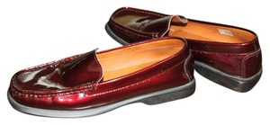 Roberta Venturi Rubber Sole scarlet patent leather Flats