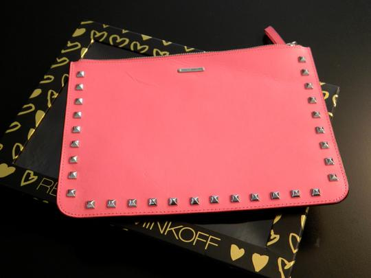 Rebecca Minkoff Rebecca Minkoff Lissa Pouch With Studs Large Travel Wallet