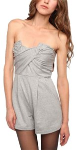 Silence + Noise And Playsuit Strapless Ruched Urban Outfitters Dress