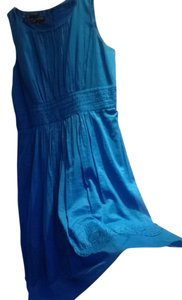 Jones New York short dress Cerulean Blue Bohemian on Tradesy