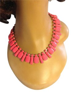 Hot Pink Acrylic Statement Choker Statement Necklace 0052535