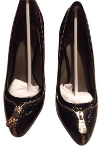 Versace Nero/ Black Pumps