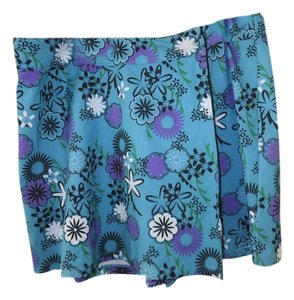 Bolle Mini Skirt Multi-Color - Blue, Purple, Black, White, Green