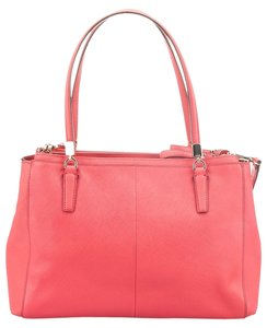 Coach Signature Legacy Satchel in Pink